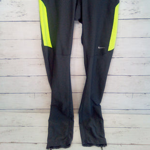Primary Photo - BRAND: NIKE APPAREL STYLE: ATHLETIC PANTS COLOR: MULTI SIZE: 0 OTHER INFO: GREY/NEON SKU: 216-21638-60754