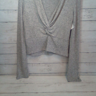 Primary Photo - BRAND: FREE PEOPLE STYLE: TOP LONG SLEEVE COLOR: GREY SIZE: M SKU: 216-21671-411