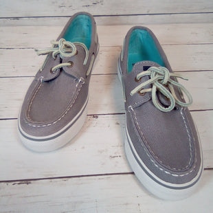 Primary Photo - BRAND: SPERRY STYLE: SHOES FLATS COLOR: GREY SIZE: 7 OTHER INFO: NEW! SKU: 216-21612-84349