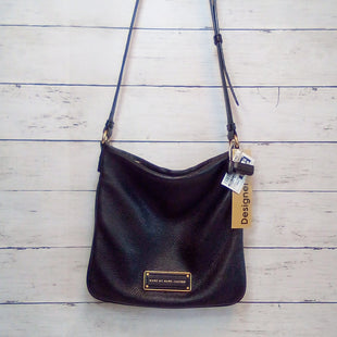 Primary Photo - BRAND: MARC BY MARC JACOBS STYLE: HANDBAG DESIGNER COLOR: BLACK SIZE: SMALL OTHER INFO: PEBBLED LEATHER SQUARE CB SKU: 216-21638-66698