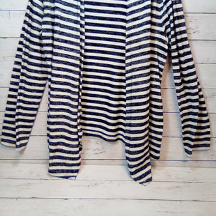 Primary Photo - BRAND: INC STYLE: SWEATER CARDIGAN LIGHTWEIGHT COLOR: STRIPED SIZE: 2X OTHER INFO: BLK/WHITE SKU: 216-21612-80277
