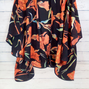 Primary Photo - BRAND: DO EVERYTHING IN LOVE STYLE: COVERUP COLOR: FLORAL SIZE: M OTHER INFO: BLACK/ORANGE BASE SKU: 216-21638-64857