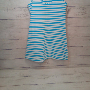 Primary Photo - BRAND: LULULEMON STYLE: ATHLETIC TANK TOP COLOR: STRIPED SIZE: S OTHER INFO: TURQUOISE/WHITE SKU: 216-21612-87055