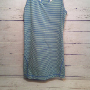 Primary Photo - BRAND: ZELLA STYLE: ATHLETIC TANK TOP COLOR: STRIPED SIZE: S OTHER INFO: BLUE/LIME SKU: 216-21612-86513