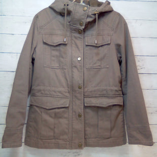 Primary Photo - BRAND: LUCKY BRAND STYLE: JACKET OUTDOOR COLOR: BROWN SIZE: S SKU: 216-21612-86881