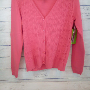Primary Photo - BRAND:    CLOTHES MENTOR STYLE: ATHLETIC JACKET COLOR: CORAL SIZE: S OTHER INFO: ALLYSON WHITMORE - NEW! PETITE GOLF SWEATER SKU: 216-21638-66027