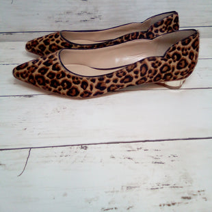 Primary Photo - BRAND: WHITE HOUSE BLACK MARKET STYLE: SHOES FLATS COLOR: LEOPARD PRINT SIZE: 7.5 SKU: 216-21644-14607