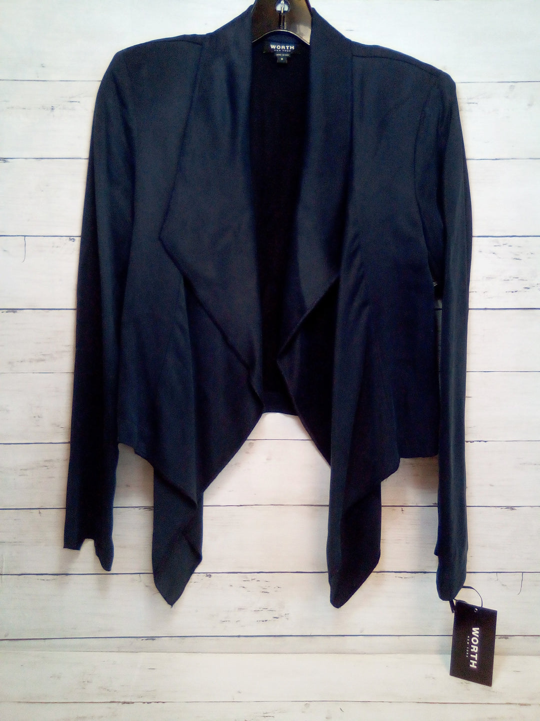 Primary Photo - BRAND: WORTH NY <BR>STYLE: BLAZER JACKET <BR>COLOR: BLACK <BR>SIZE: XS <BR>OTHER INFO: NEW! <BR>SKU: 216-21612-86508