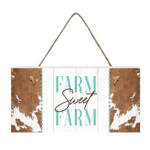 Kelly Lane Country Hanging Plaque