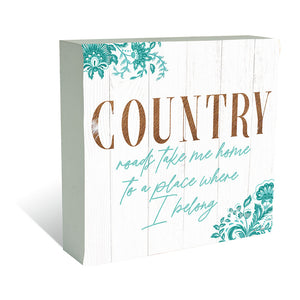 Kelly Lane Country Plaque Block
