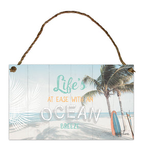 Kelly Lane Wanderlust Hanging Tin Sign
