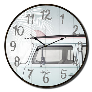 Kelly Lane Wanderlust Clock 34cm