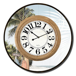 Kelly Lane Wanderlust Clock 60cm