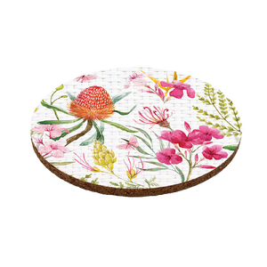Kelly Lane Blossom Coasters Round