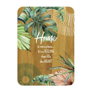 Lisa Pollock Bamboo Affirmation Plaque