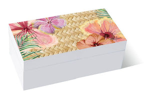 Kelly Lane Hibiscus Trinket Box