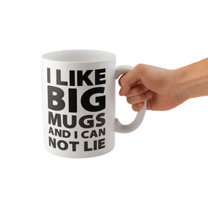 Gigantic Coffee Mug 'I Like Big Mugs...'