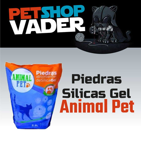 Piedras Silicas Gel Animal Pet