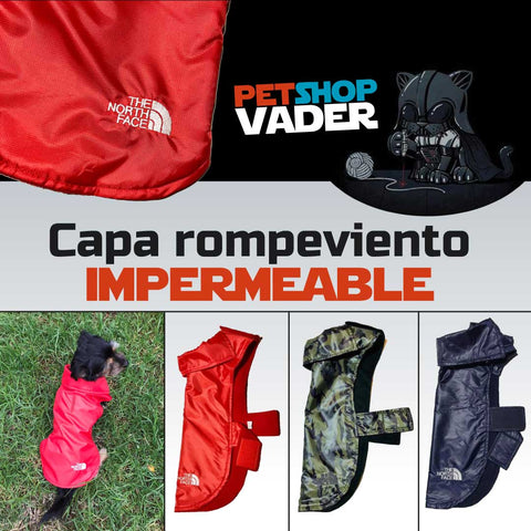 Capa rompeviento y lluvia impermeable