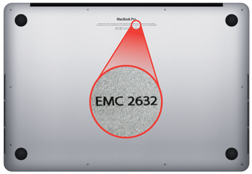 What's an EMC number, and where can I find mine?