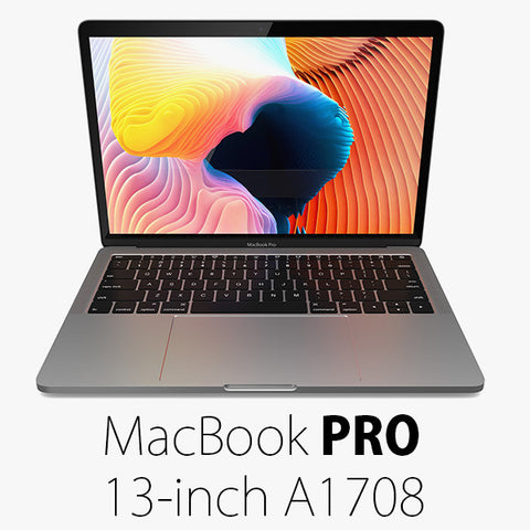 """Apple released the well-balanced MacBook Pro 13"""" A1708 (EMC 2978, EMC 3164) with a frame and screen built for balanced use but just 512GB native SSD storage."""