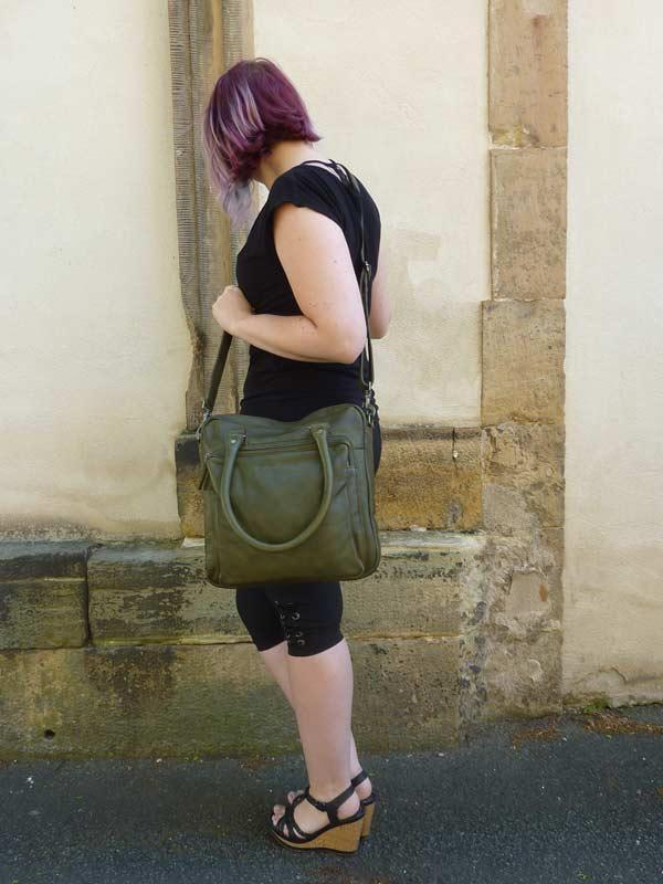 Sticks and Stones Antigua Bag – Dark Taupe Tragevariante
