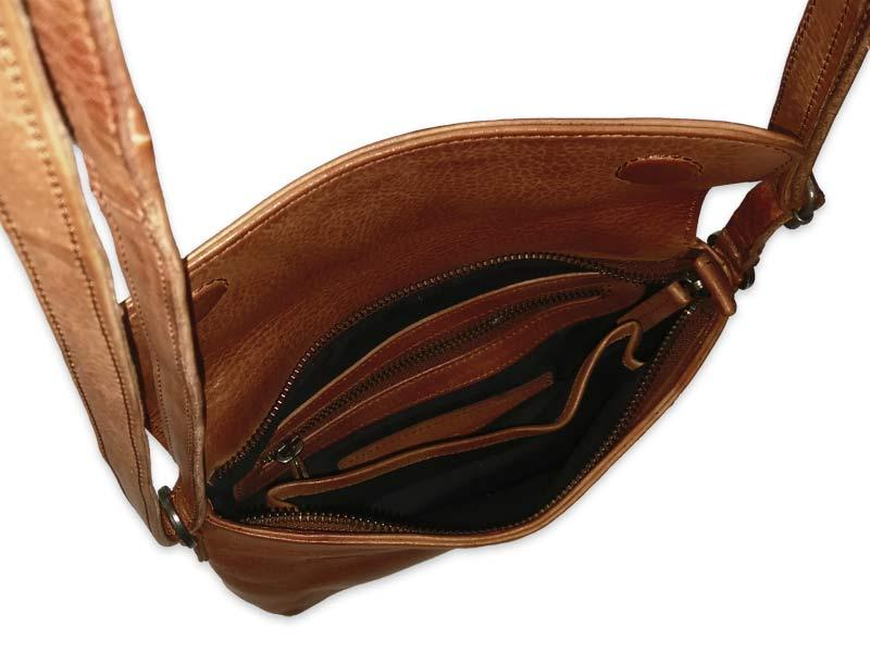 Athens Bag – Cognac