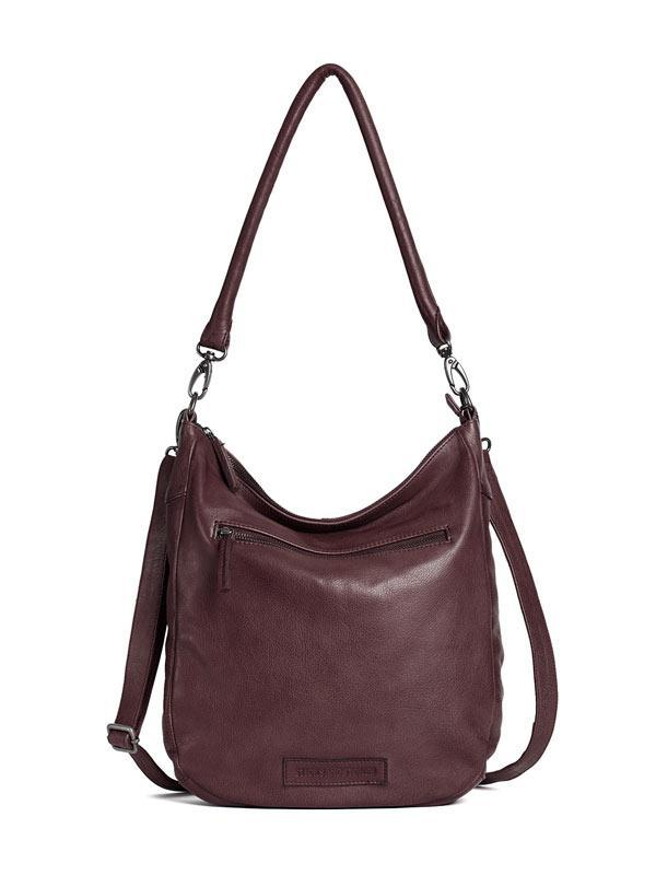 Sticks and Stones - Ledertasche Bali - Burgundy