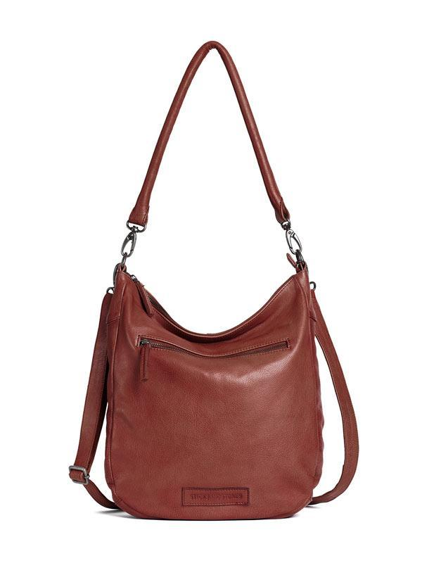 Sticks and Stones - Ledertasche Bali - Mustang Brown