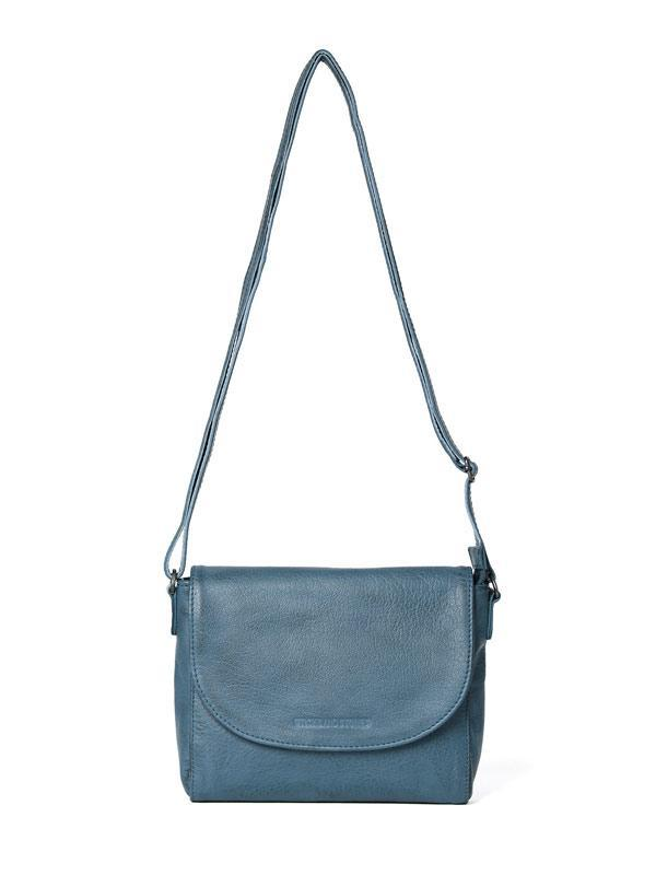 Sticks and Stones - Ledertasche Berkeley Bag - Denim Blue