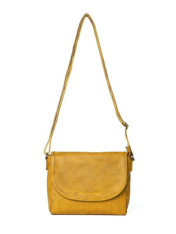 Sticks and Stones - Ledertasche Berkeley - Honey Yellow