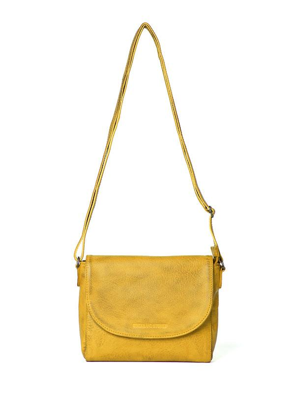 Sticks and Stones - Ledertasche Berkeley - Yellow