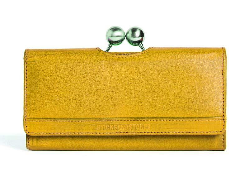 Sticks and Stones Berlin Wallet – Yellow Tragevariante