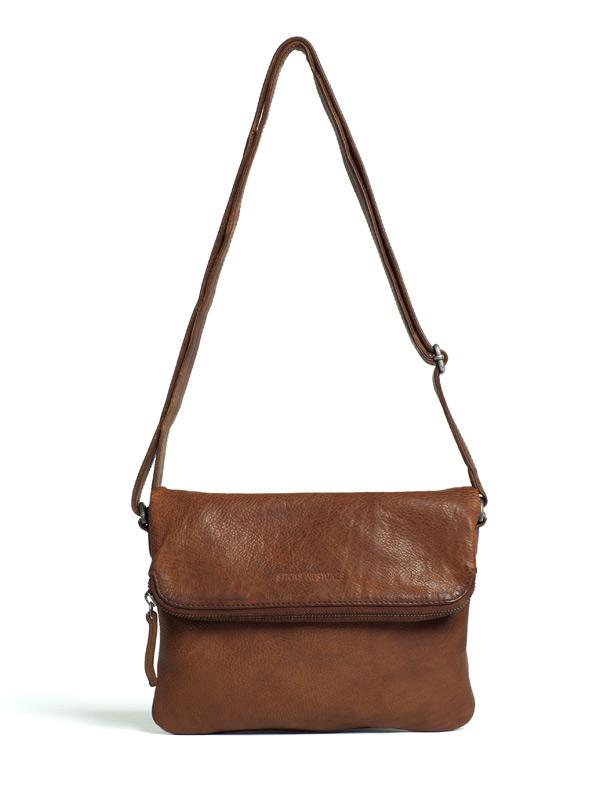 Sticks and Stones - Ledertasche Bondi - Cognac