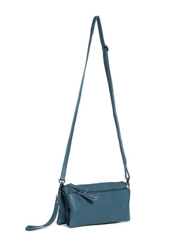 Sticks and Stones - Umhängetasche Bonito Bag - Denim Blue Seitenansicht