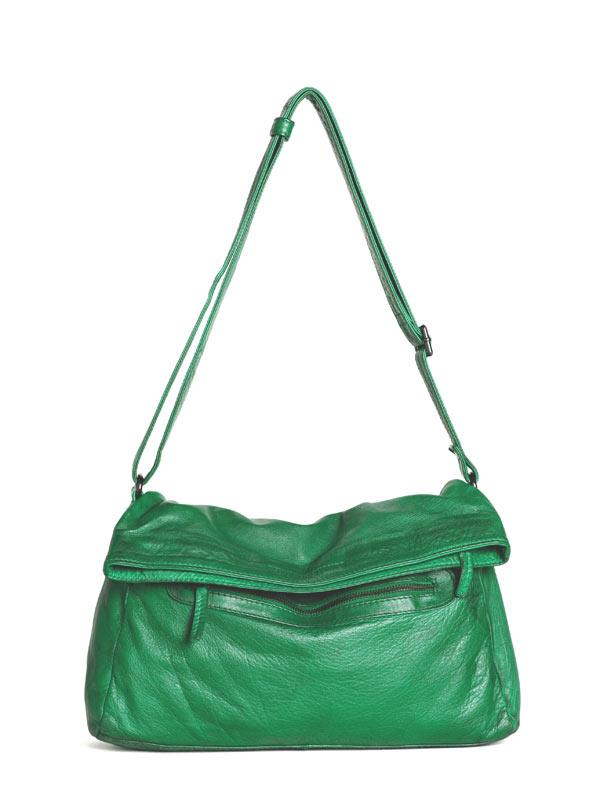 Sticks and Stones - Umschlagtasche Brasilia Bag - Cactus Green