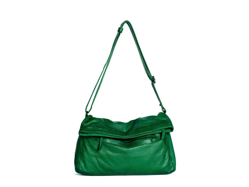 Sticks and Stones - Umschlagtasche Brasilia Bag - BW - Cactus Green