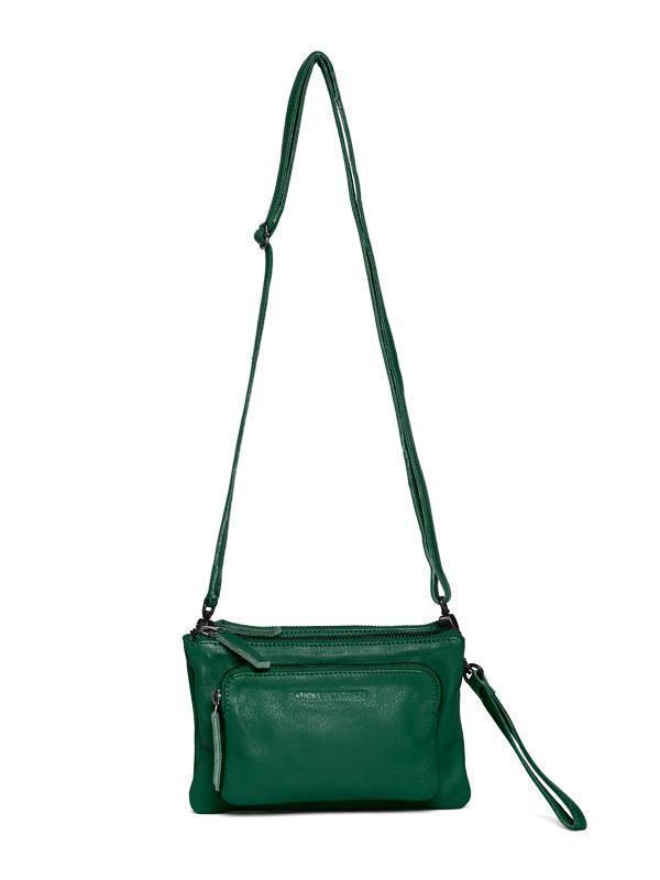 Sticks and Stones - Ledertasche Bronte - Rainforest Green