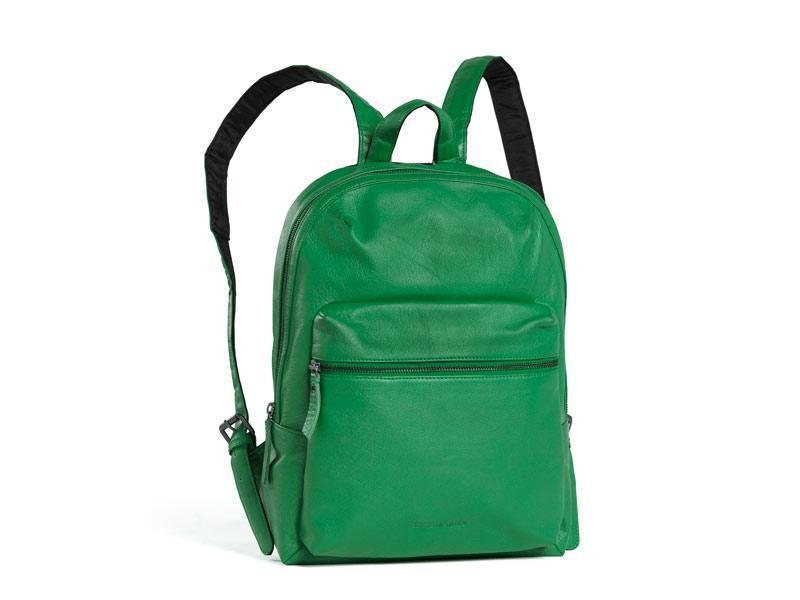 Sticks and Stones - Lederrucksack Brooklyn - Cactus Green