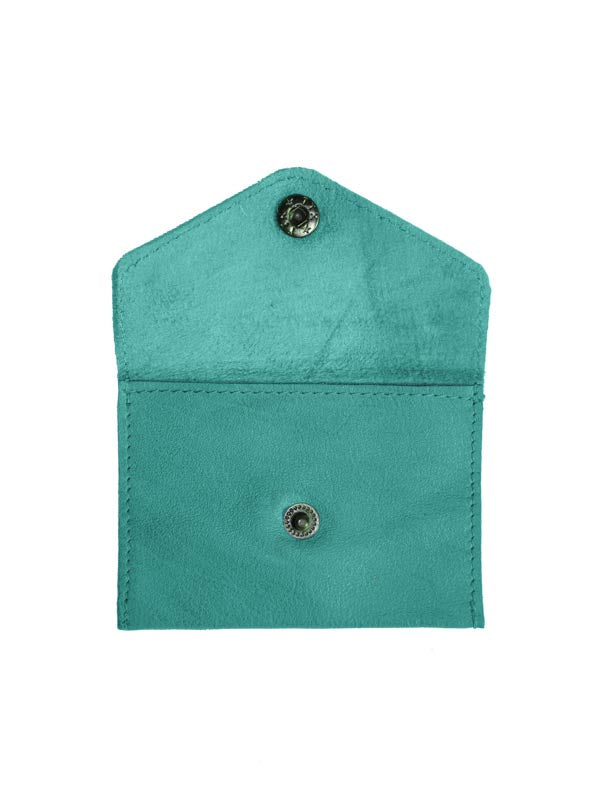 Sticks and Stones - Visitenkartenetui Busta Card Wallet - Aquamarine Innenansicht