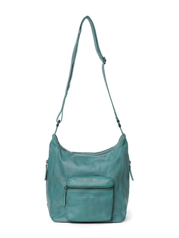 Sticks and Stones - Ledertasche Calgary - Aqua