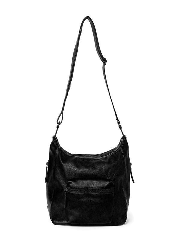 Sticks and Stones - Ledertasche Calgary - Black