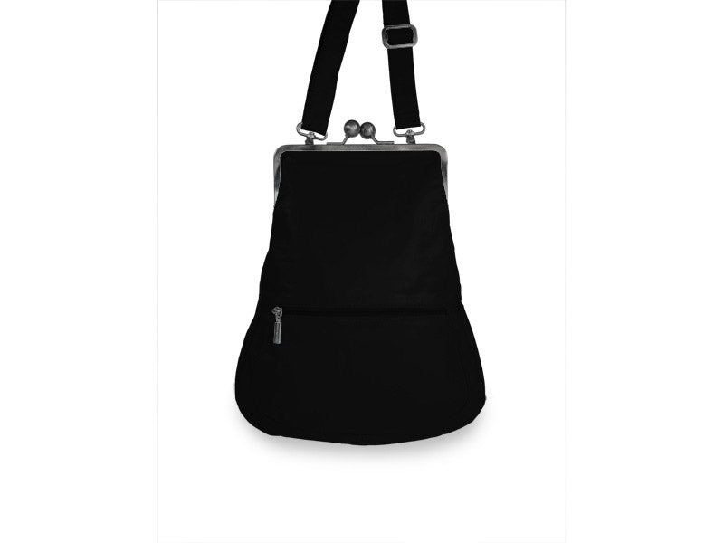 Sticks and Stones - Ledertasche Cannes - Black Rückseite