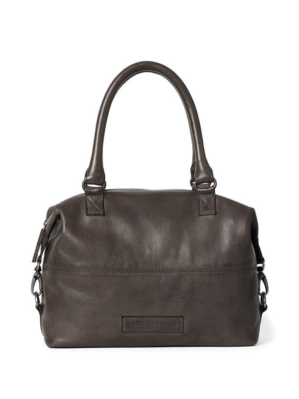 Sticks and Stones - Ledertasche Charleston - Dark Taupe