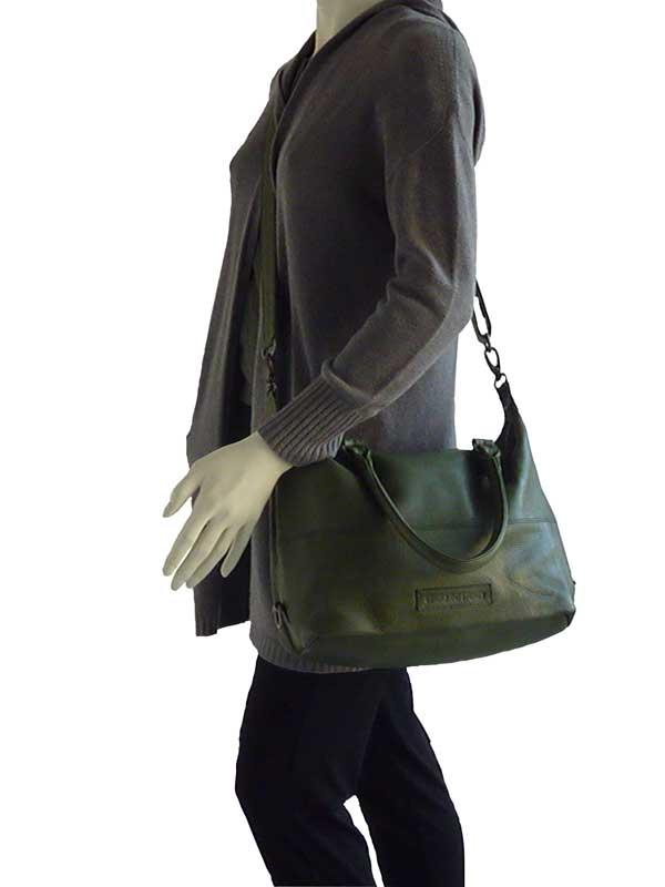 Sticks and Stones - Ledertasche Charleston als Crossbag