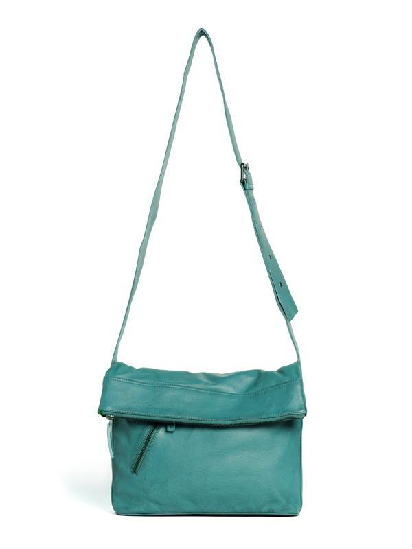 Sticks and Stones - Ledertasche City - Aqua