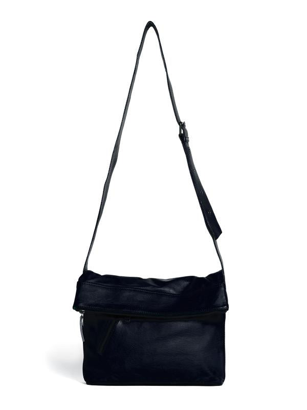 Sticks and Stones - Ledertasche City Bag - Dark Blue