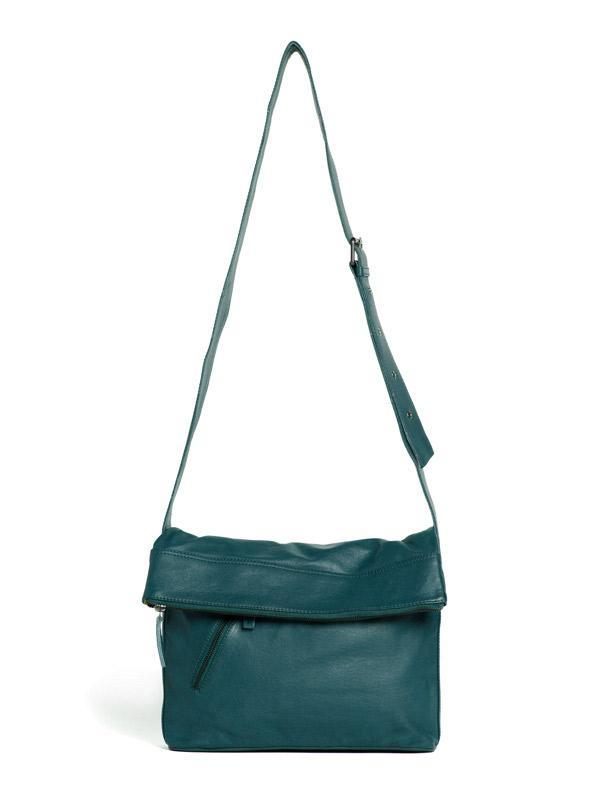 Sticks and Stones - Umschlagtasche City Bag - Dusty Petrol
