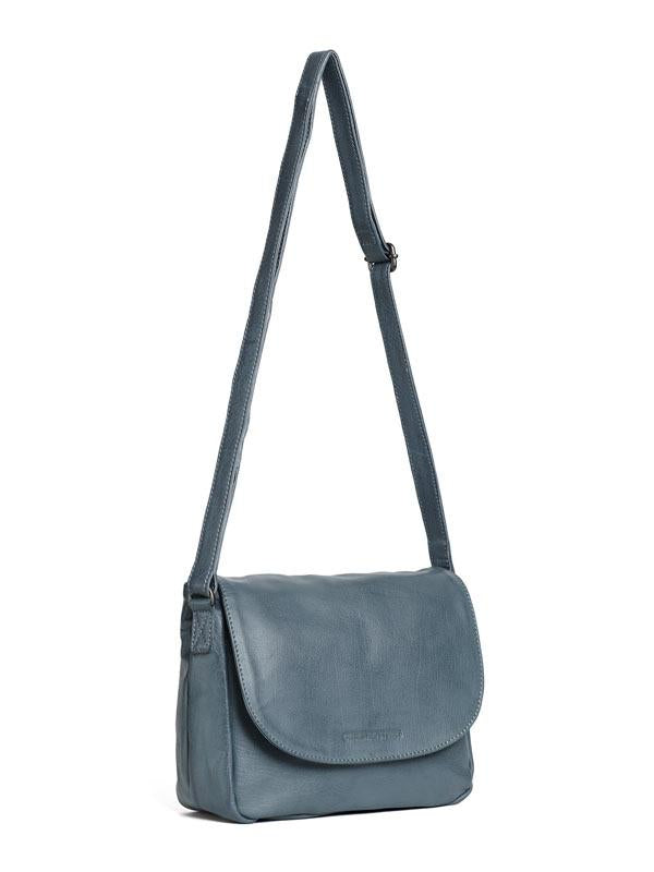 Sticks and Stones - Ledertasche Columbia Bag - Dark Slate
