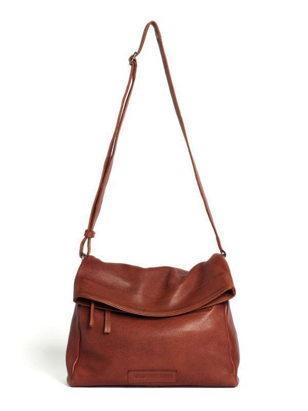 Sticks and Stones - Ledertasche Costa - Mustang Brown